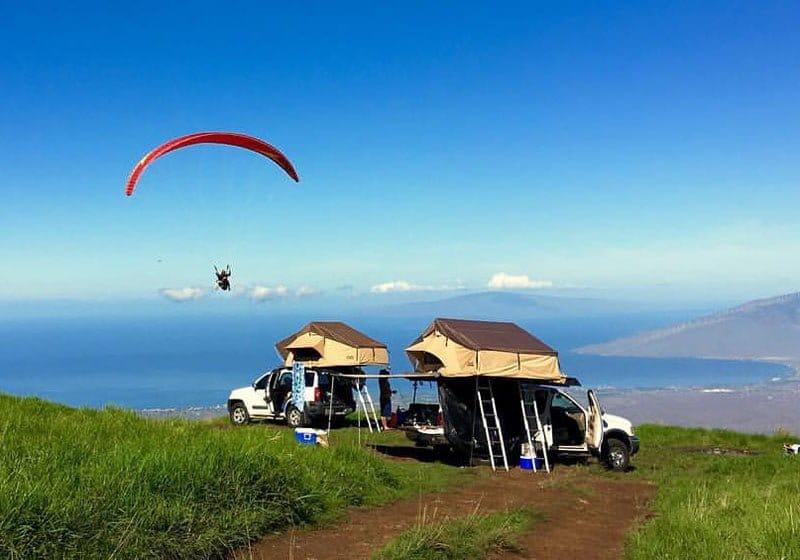 Paragliding in Maui HI