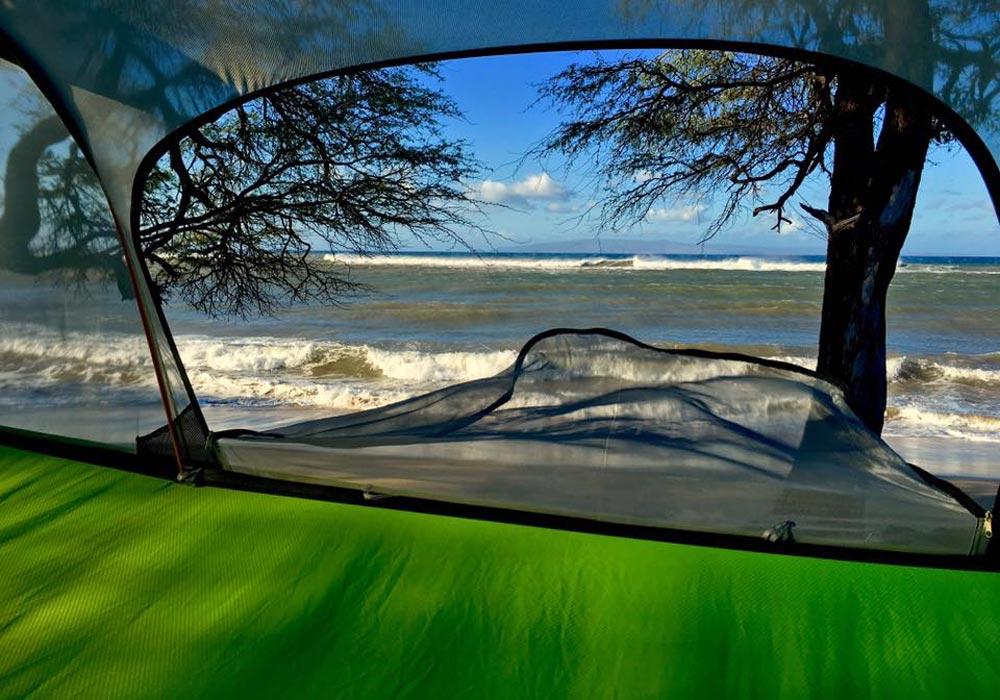 Camping Tent in Maui HI