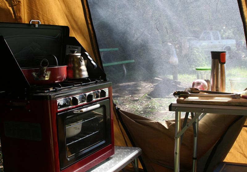 Camping Equipment Cooking in Maui HI
