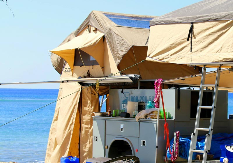 Rooftop Camping Equipment in Maui HI