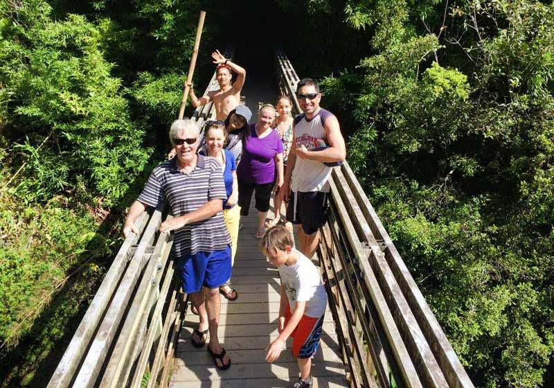 Camping Excursion Bridge in Maui HI