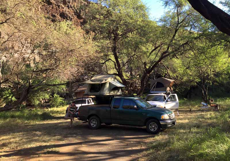 Book Camping Trip in Maui HI