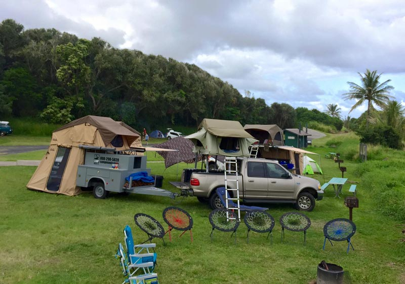 Book Your Camping Trip in Maui HI