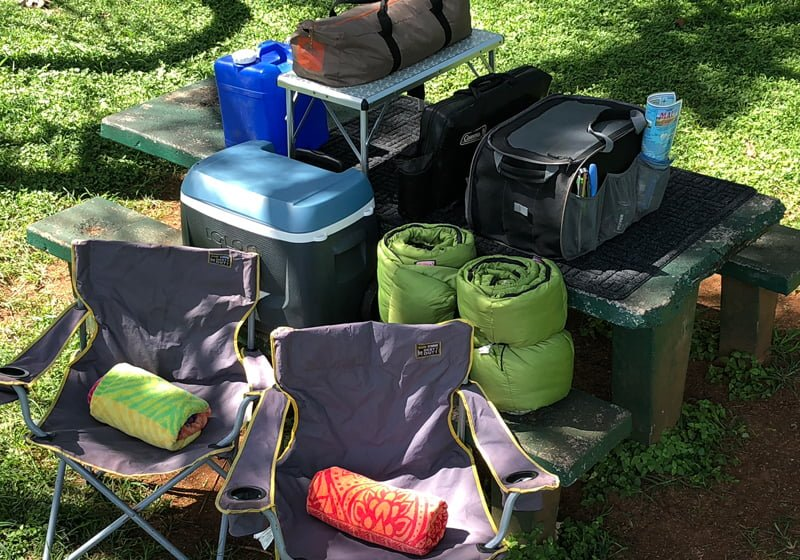 Camping Gear in Maui HI