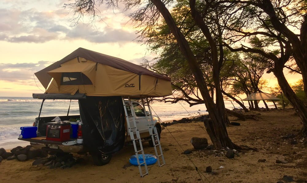 SUV Rooftop Camper in Maui HI