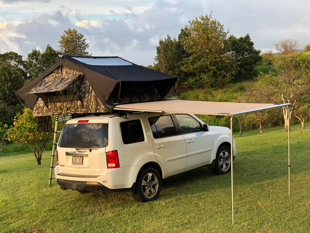 Rooftop Tent Camping in Maui HI