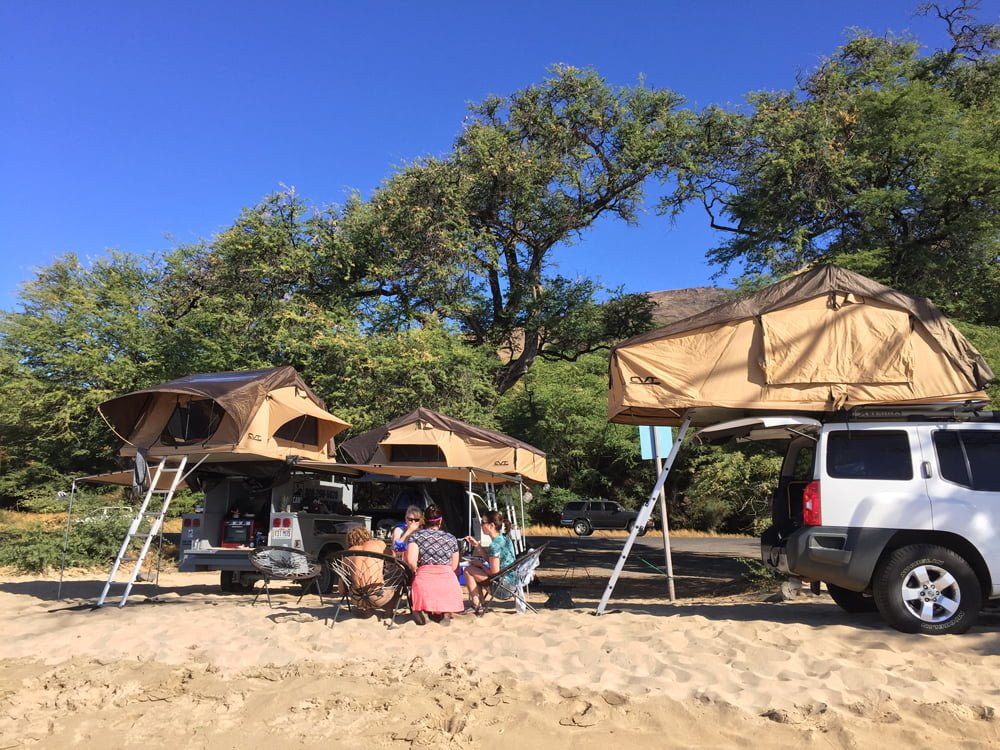 Book Your Family Camping Trip Maui HI Camp Maui-X
